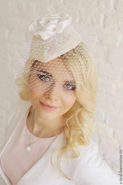 Photo of Wedding hat / Handmade clothing and accessories. I…