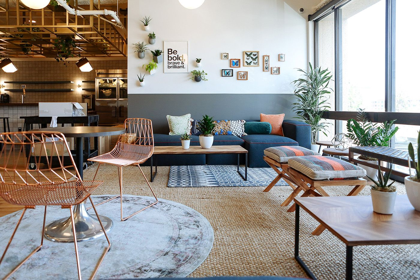 Wework A 16 Billion Tech Unicorn That Leases Out Private Offices And Co Working Spaces To Creative F Coworking Space Design Coworking Design Workspace Design