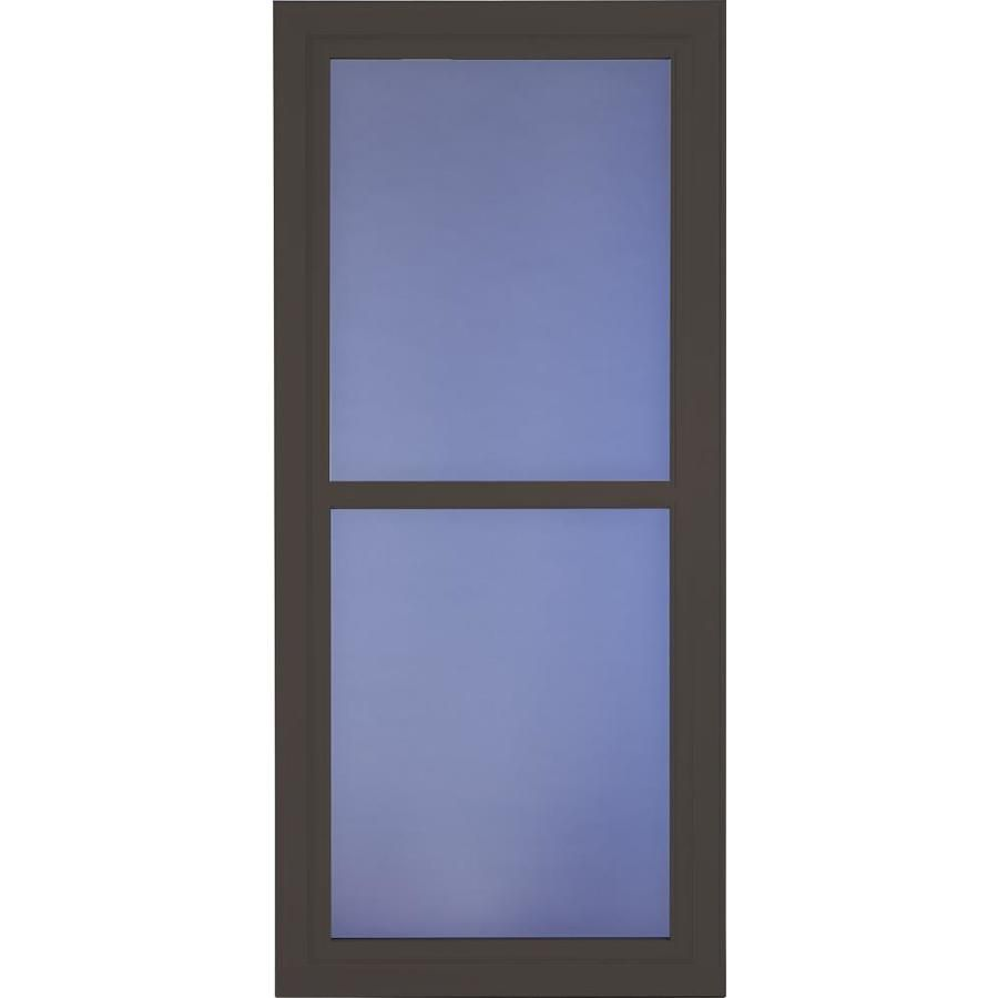 Larson Tradewinds Selection Brown Full View Aluminum Retractable