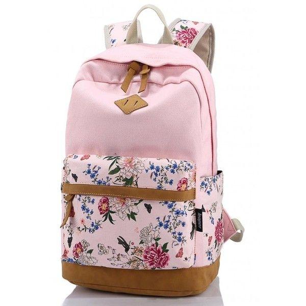 Leaper Cute Backpack School Bookbags College Bags Travel Daypack Pink