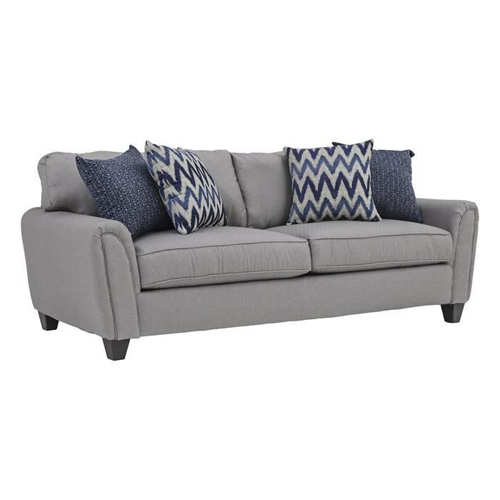 Goldmine Sofa in Slate Nebraska Furniture Mart