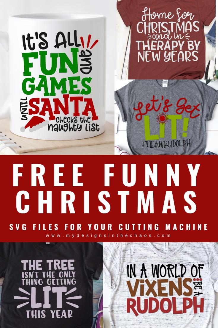 Free Funny Christmas SVG Designs Christmas svg