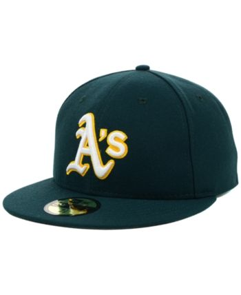 4fdc024983bdb6 New Era Oakland Athletics Mlb Authentic Collection 59FIFTY Fitted Cap -  Green 7 1/8