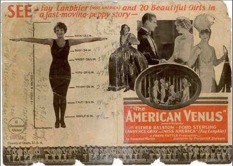 The American Venus, 1926  (Fay Lanphier is Miss Alabama in the film, and was Miss America 1925 IRL)