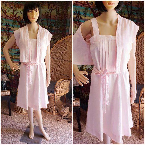 0e77678ef 80 s Pastel Pink Dress by DW3