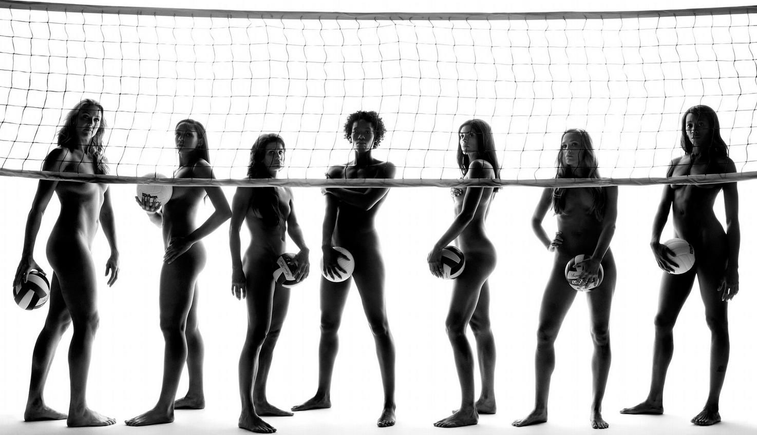 Naked nude volleyball olympic