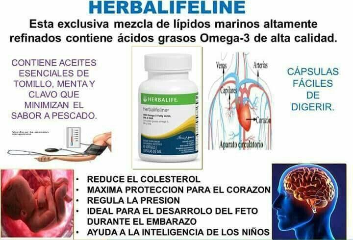 Con El Omega 3 Que Contiene En Su Mayor Parte Herbalifeline
