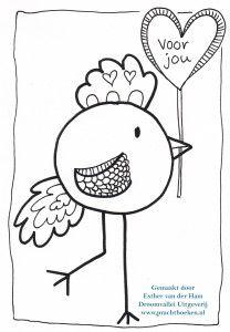 Kleurplaten Vogels Printen.Vogel Kleurplaat Voor Jou Kleurplaten Vogels En Kleurrijk