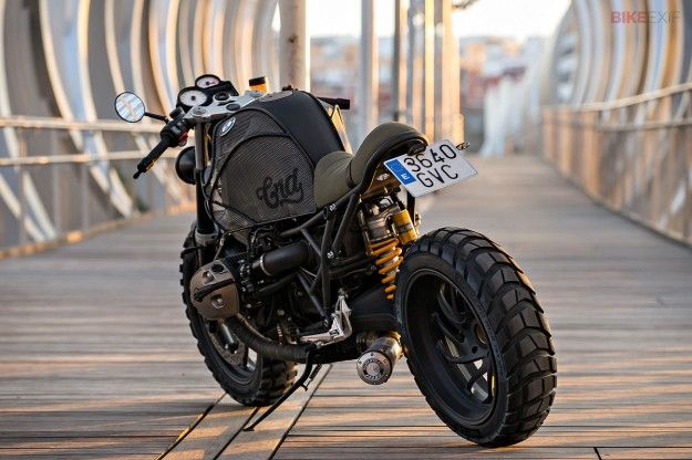 bmw r1200scafe racer dreams | custom motorcycle builders