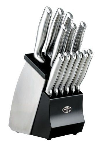 Hampton Forge Kobe 12 Piece Knife Set With Block By