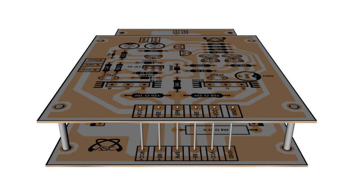 Amplificador Stereo De 1000w Projetos Para Experimentar Electric Circuit Diagram Games