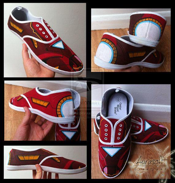 Iron Man Canvas Deck Shoes