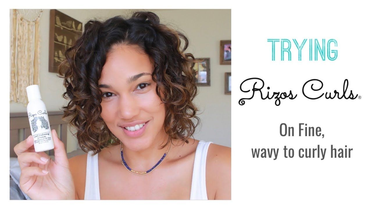 Rizos Curls Review Fine Wavy To Curly Hair 2b 3a Wavy Curly