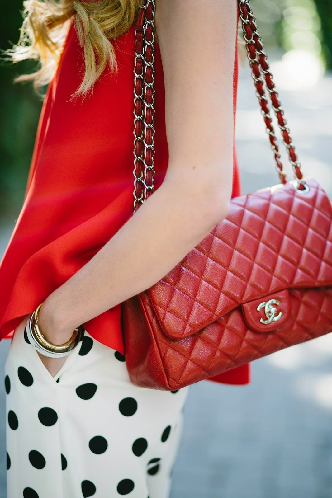 chanel bags classic red. atlantic-pacific // red chanel classic flap bag bags s