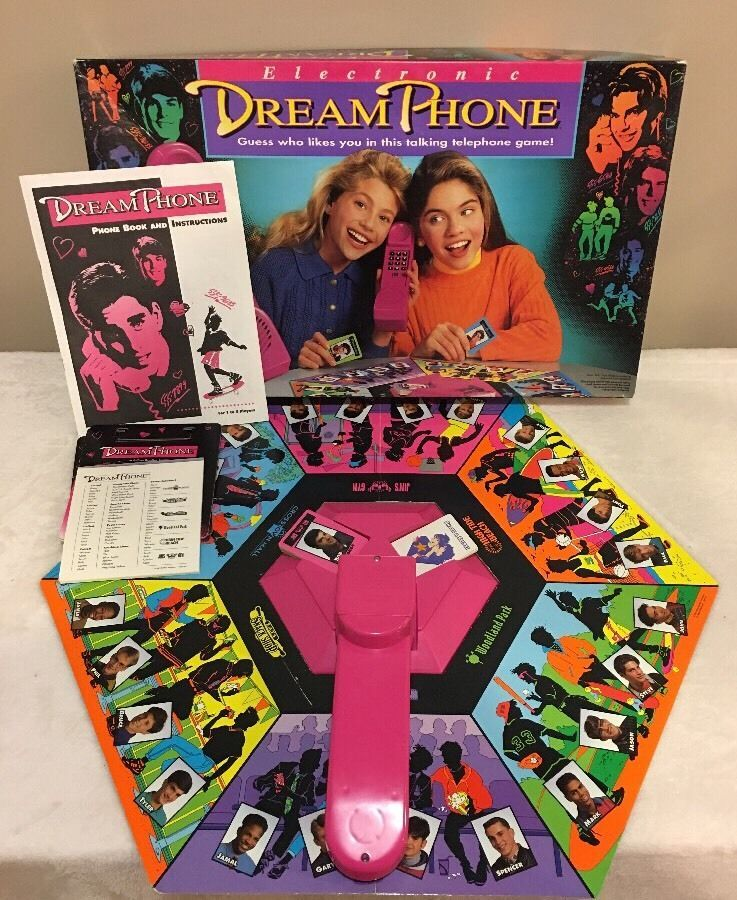 Dream Phone Electronic Telephone Game 100 Complete Working Mb