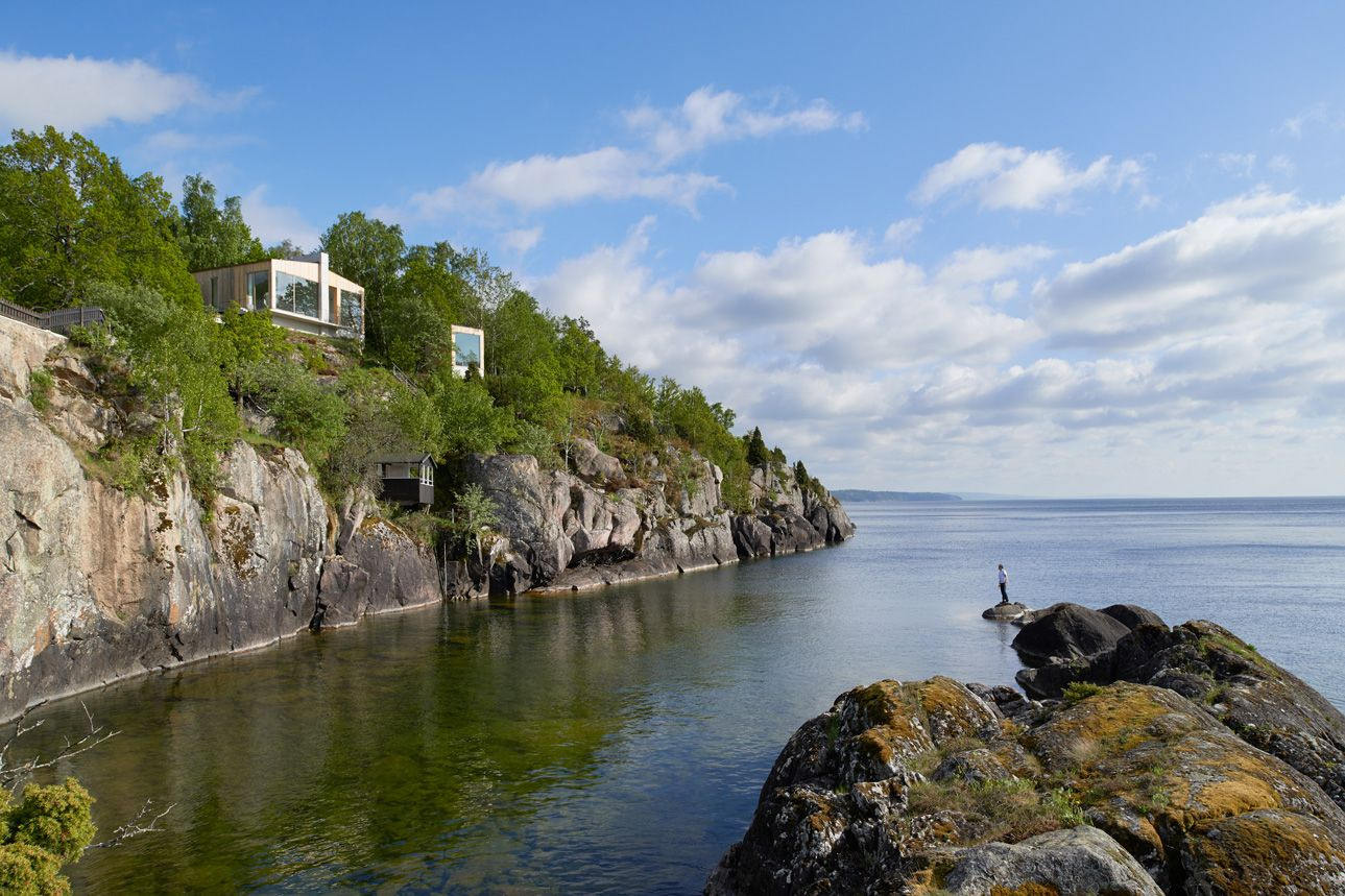 Stupet Refugium By Petra Gipp Arkitektur Ideasgn Lakeside Cottage Lake House Architectural Photographers