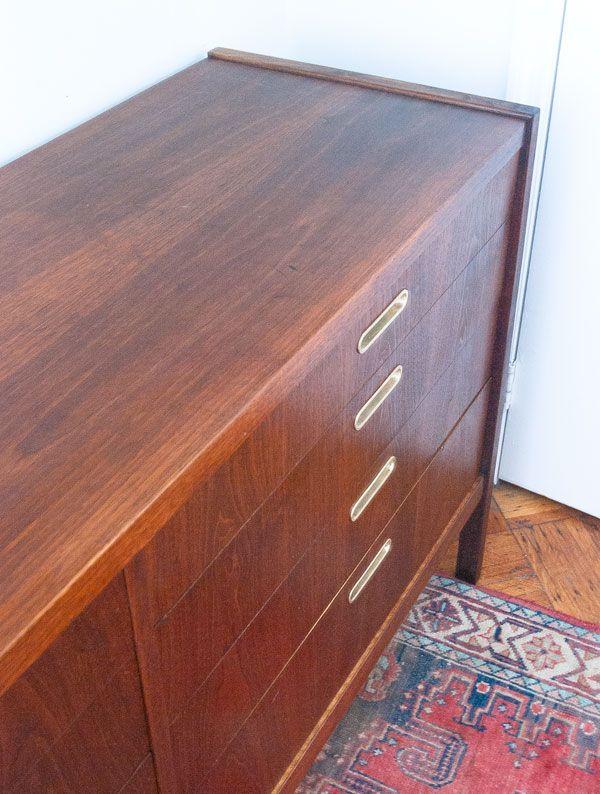 How To Restore A Teak Dresser.
