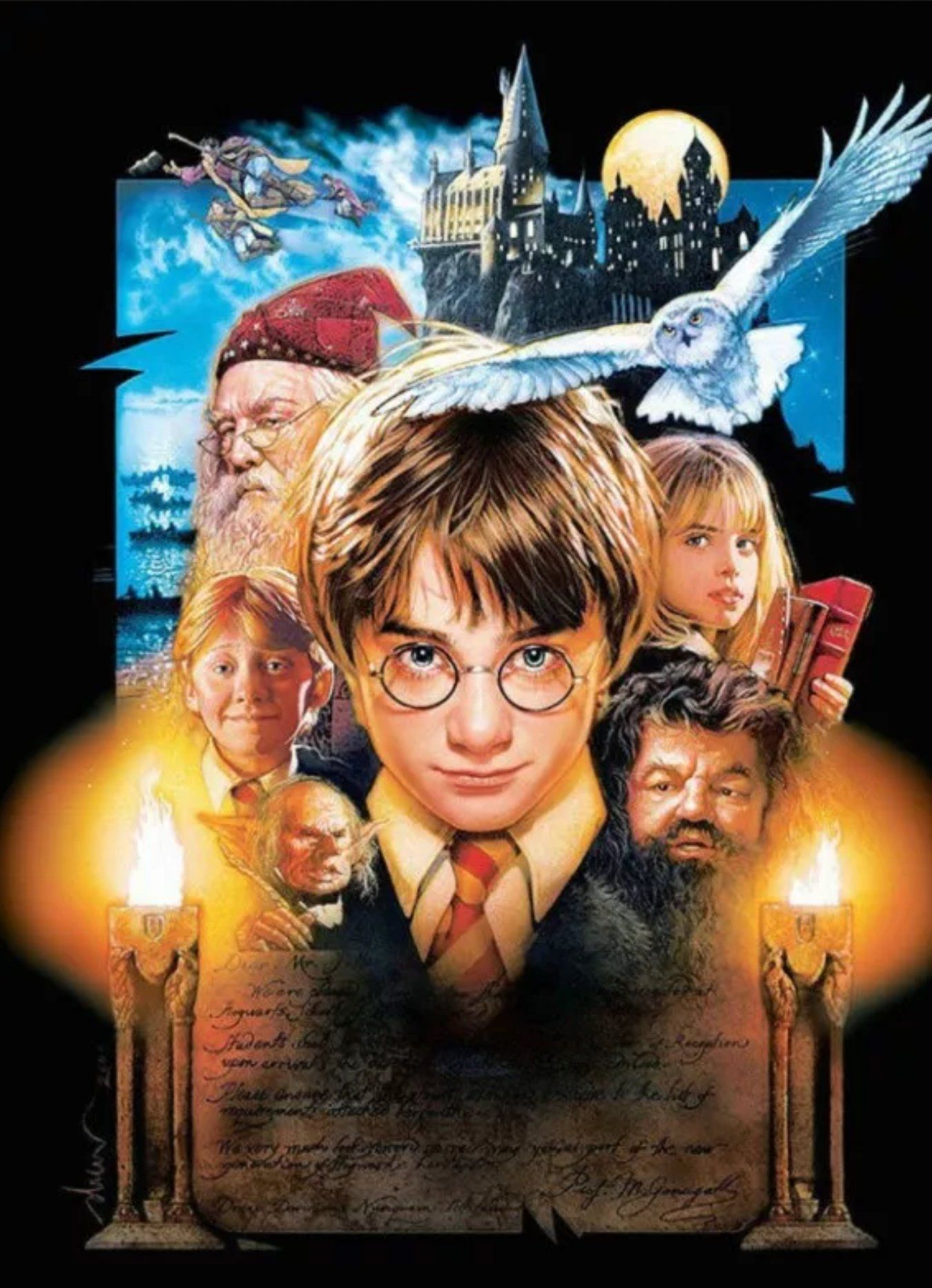 Todays Masterpiece Diamond Painting From Harry Potter And The Philosophers Stone Etsy Shop Harry Potter Movie Posters Harry Potter Movies Harry Potter Full