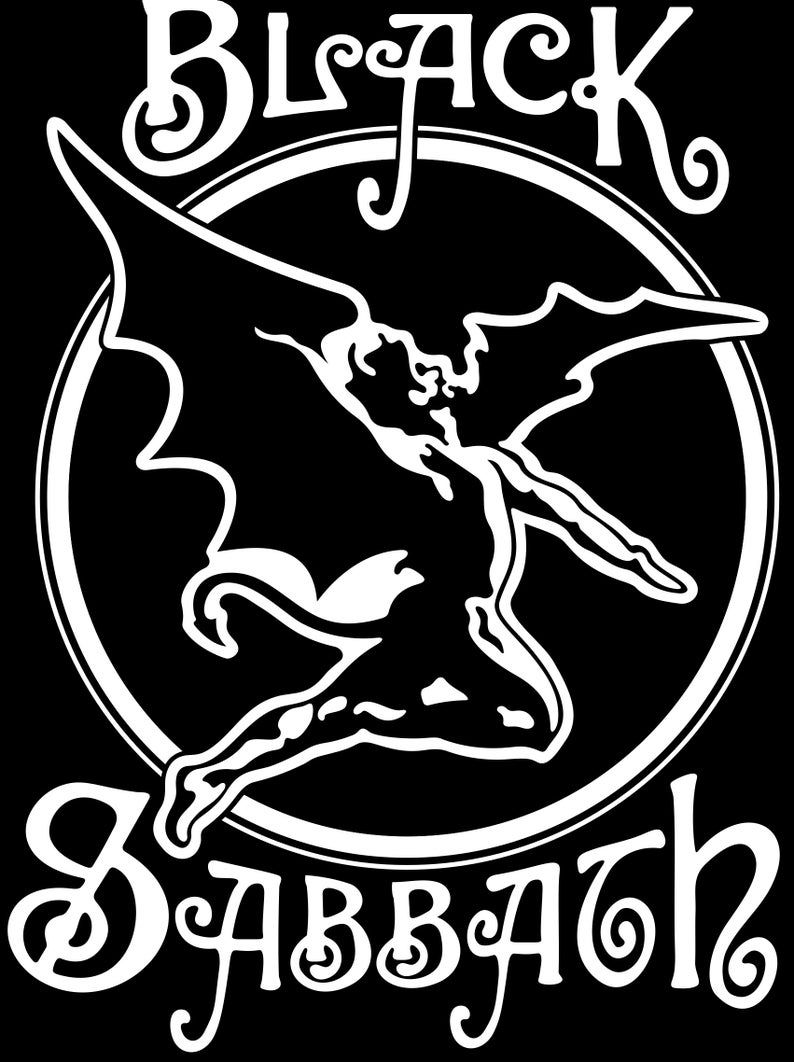 Black Sabbath Svg Poster Logo Text Vector Format Plus Ai Black Sabbath Black Sabbath Concert Greys Anatomy Memes