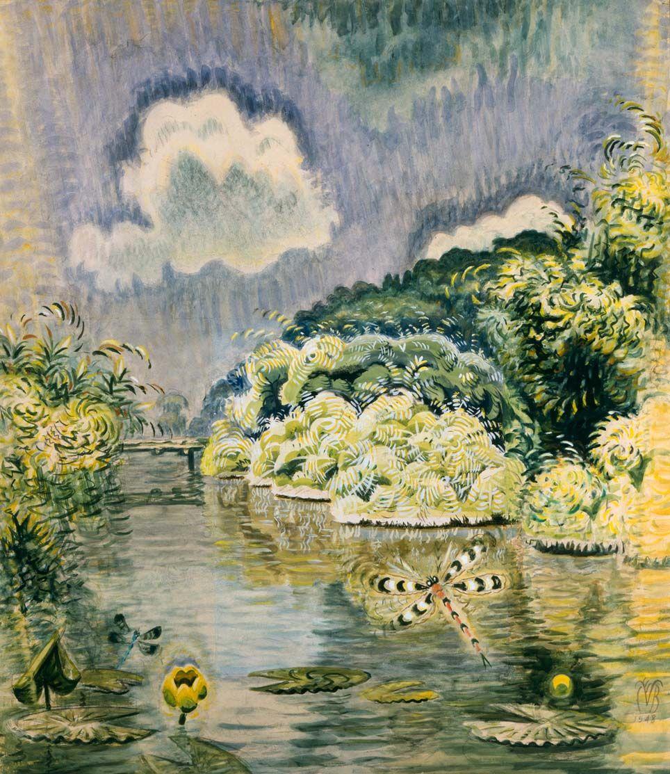 Картинки по запросу charles e burchfield paintings