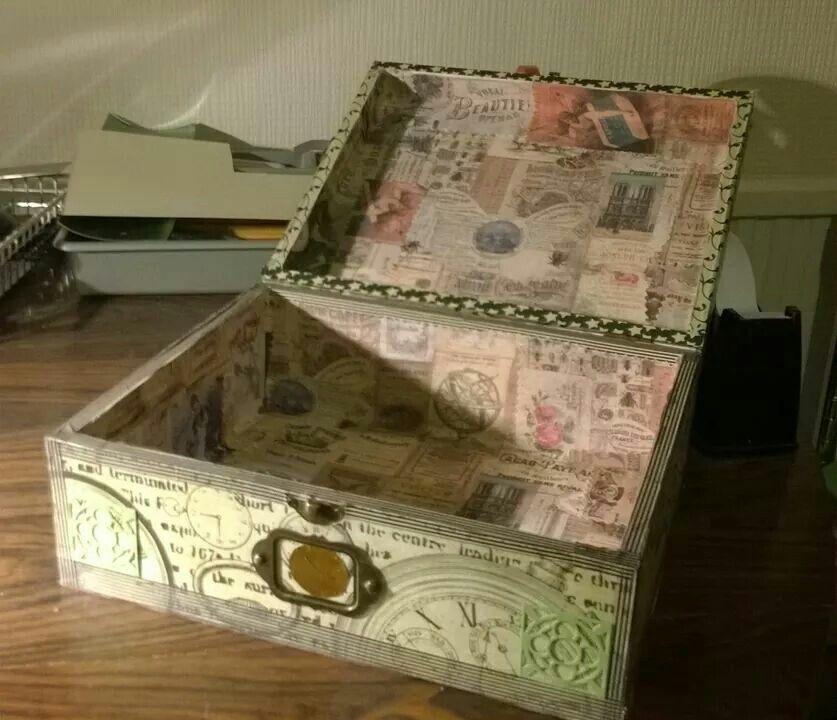 Steampunk box inside...