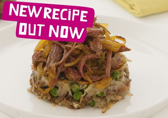 Countdown - Feed Four for @$15 Recipe - Corned Beef with Potato and Apple Hash