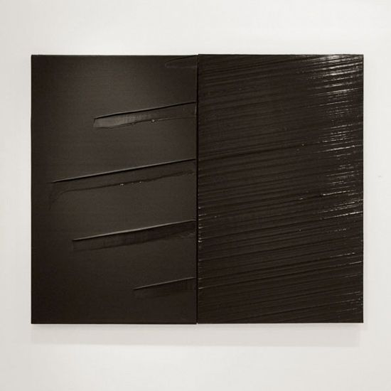Pierre Soulages, Untitled (230x162cm 29 mai 2011).