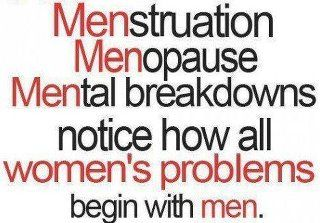 """Problems start with """"men""""!"""