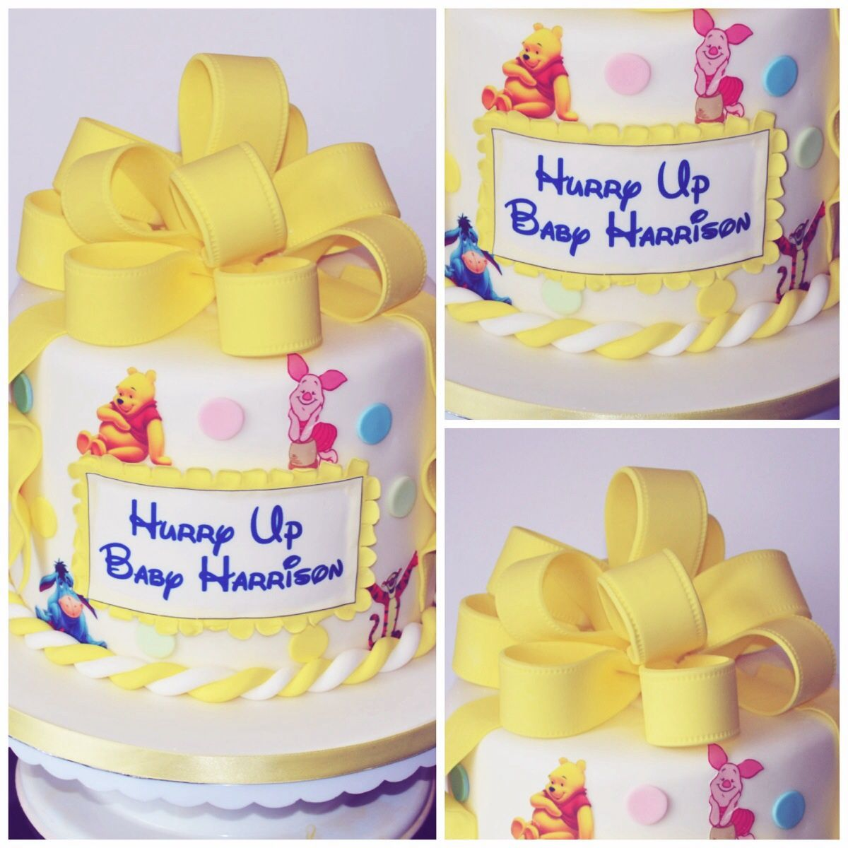 winnie the pooh baby shower cake letty pinterest