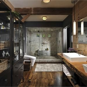 Country/Rustic (Country) Bathroom By Susan Fredman