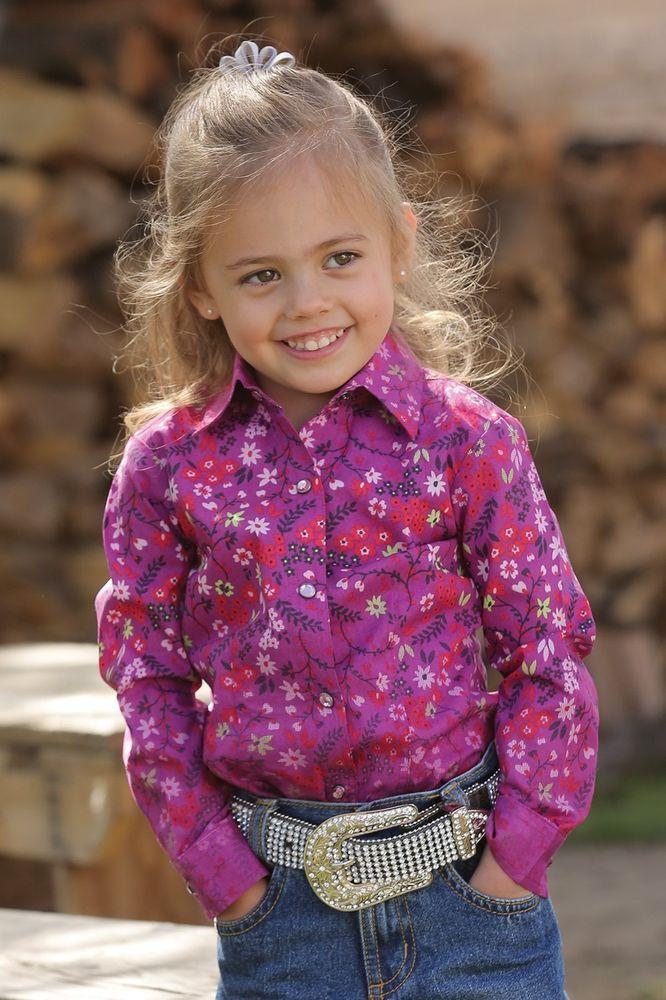 e0be9b463e CRUEL GIRL COWGIRL WESTERN SHIRT Rhinestone Snaps L/S LITTLE KIDS NWT  Toddler 3T…