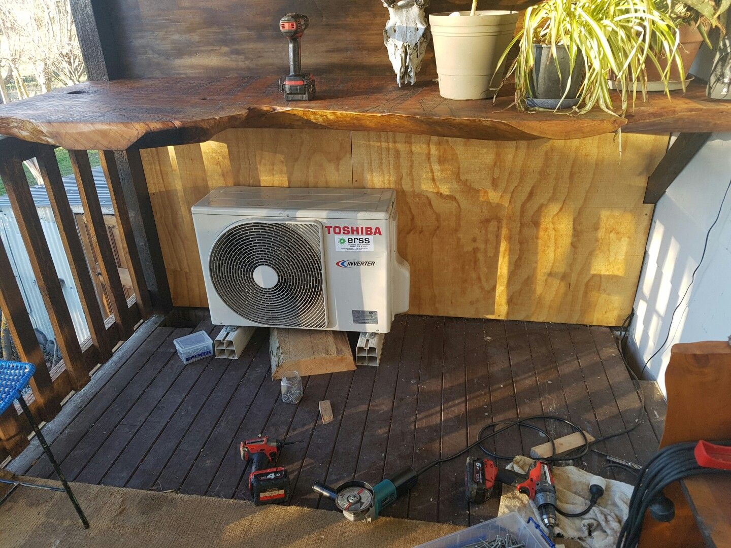 Pin by Texwood on Poorly placed heatpump shroud Home
