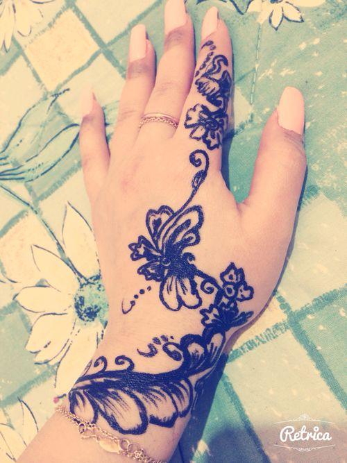 My work my hand