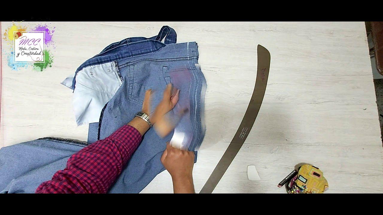 Reducir Cintura Jeans Youtube Ropa Reducir Cintura Patrón De Costura De Blusa