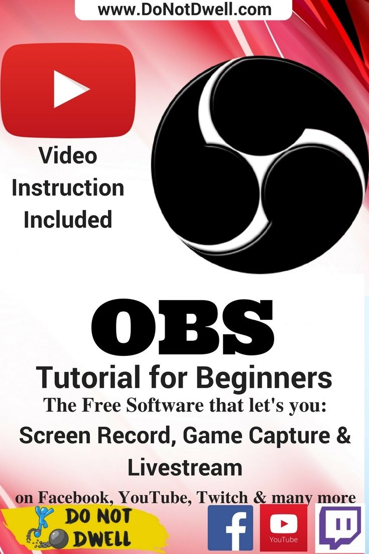 OBS Tutorial for Beginners: Recording, Streaming & Editing