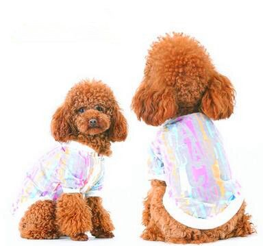 Bright Light Sunscreen Clothing Dog Spring And Summer Clothes Out