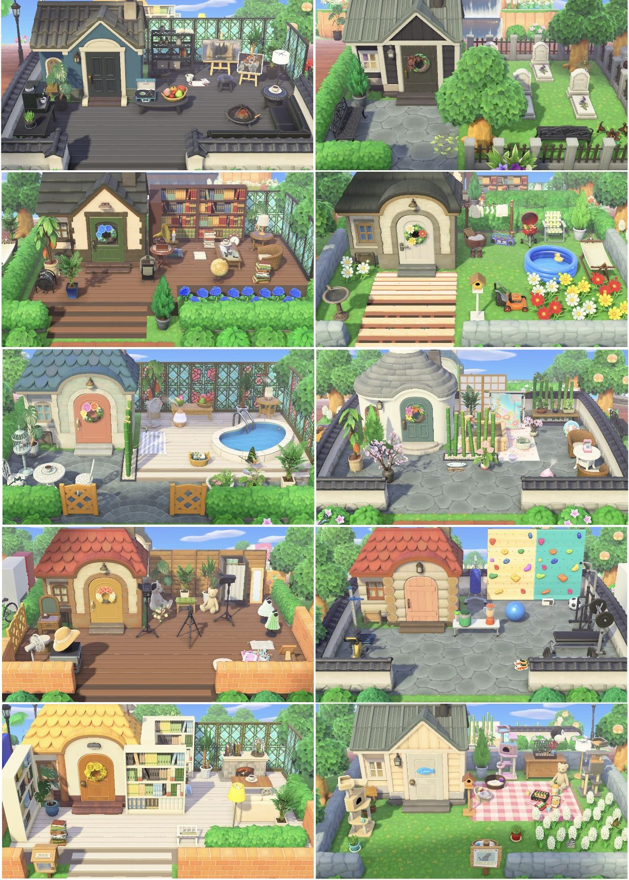 Villager Homes In 2020 Animal Crossing Animal Crossing Guide