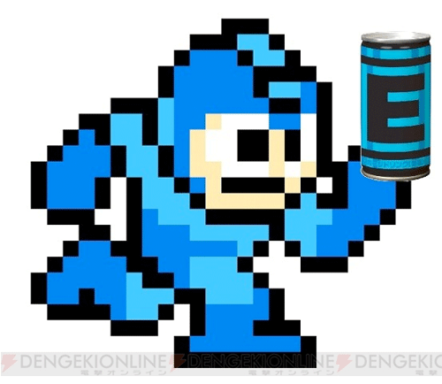 Mega Man E Energy Tanks Are Now Real In Energy Drink Form Mega Man Energy Tank Mega Man 9