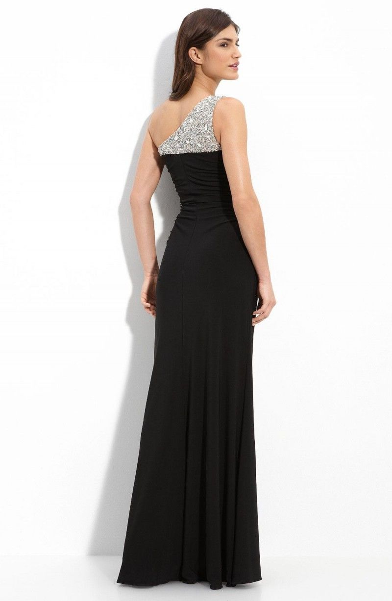 1000  images about Tasteful Long Black Evening Dresses Ideas on ...