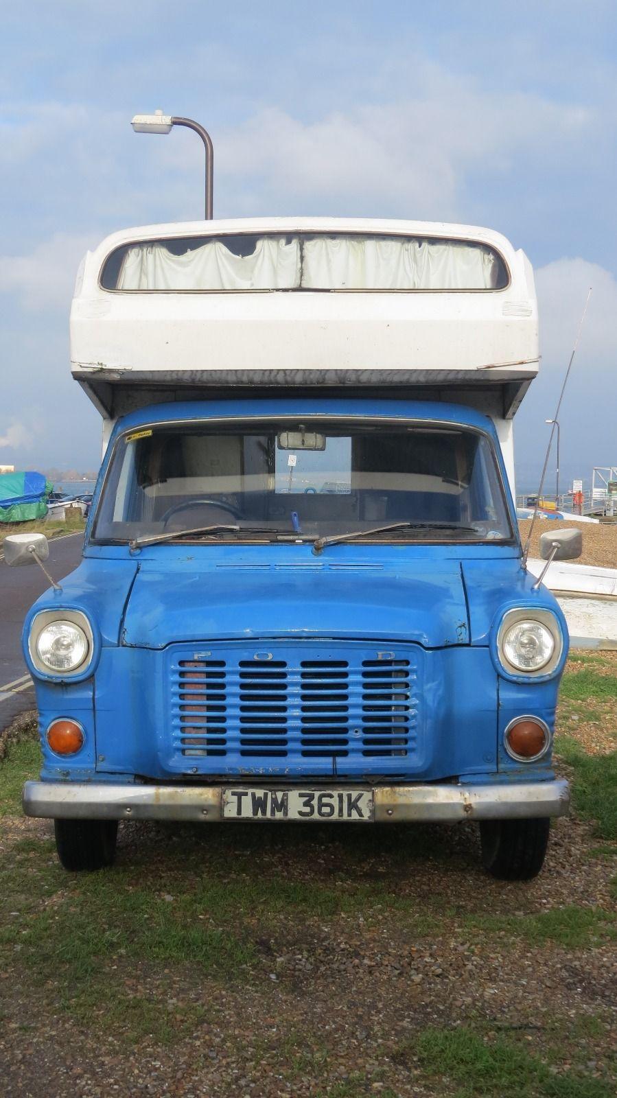 mk1 ford transit camper van historic vehicle tax exempt. Black Bedroom Furniture Sets. Home Design Ideas