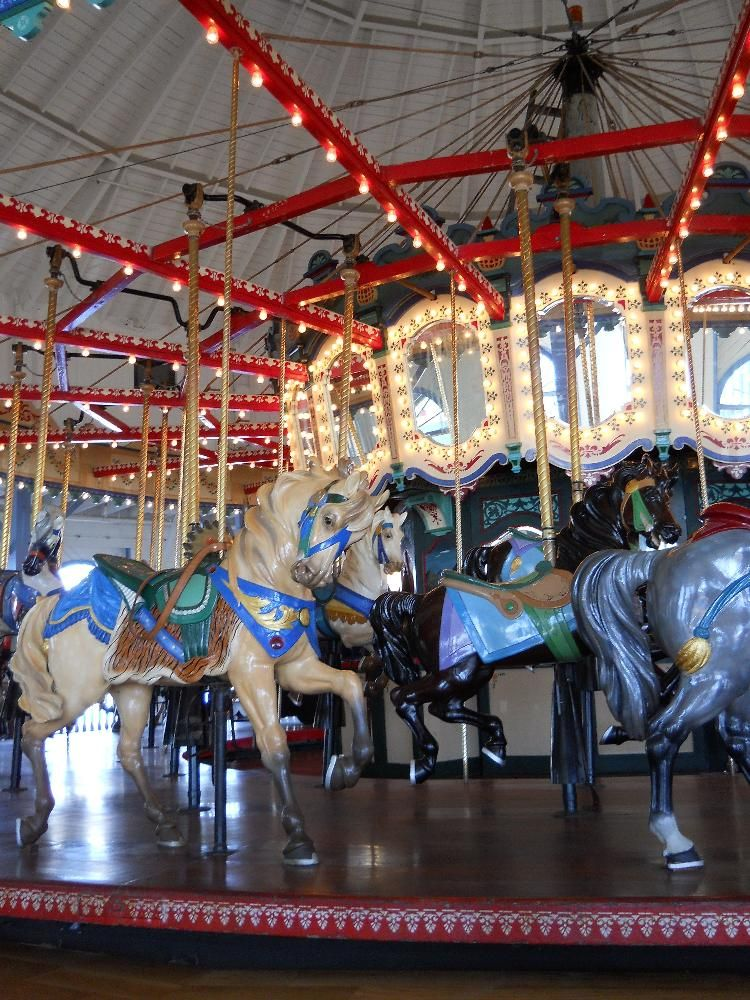 Carousel at santa monica pier santa monica ca