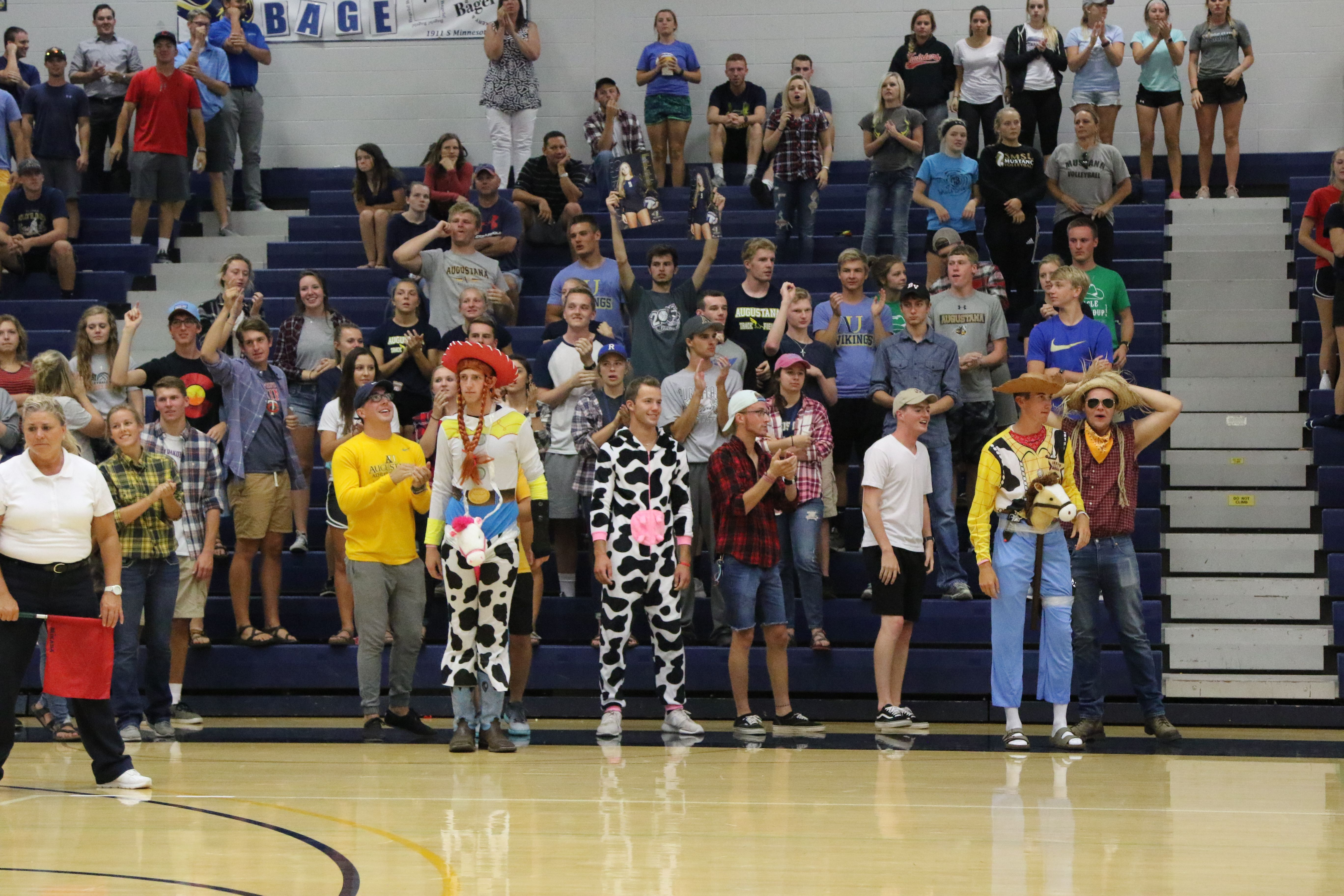 Western Theme Night For Our Students At Volleyball Against Smsu Vikings Fan Athlete Volleyball