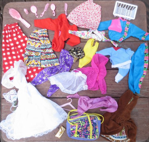 Vintage Barbie Clothes And Accessories 70s 80s 90s By