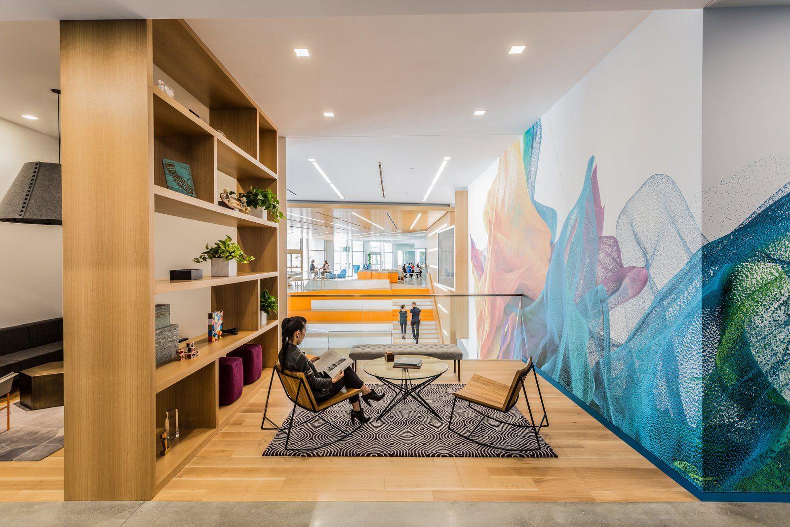 adobe s newly renovated headquarters san jose office snapshots