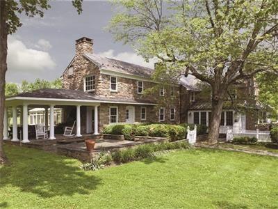 Shady Springs Farm Circa 1710 Pennington Nj House Exterior Luxury Homes Exterior Stone Houses