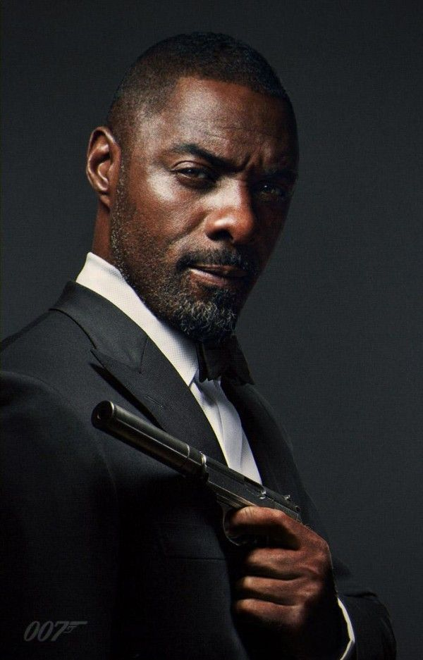 Black James Bond