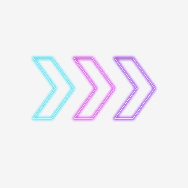 Simple Coloreffect Neon Border Simple Color Effect Png Transparent Clipart Image And Psd File For Free Download In 2020 Simple Colors Arrow Illustration Clip Art