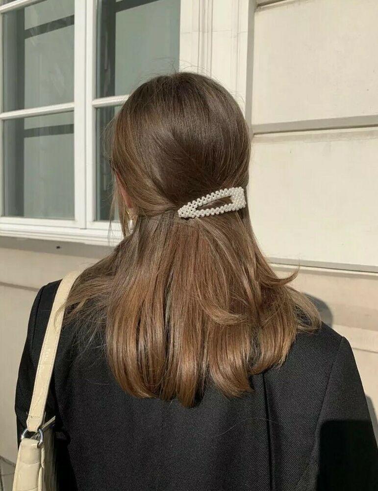 Perlen Haarklammer Haarschmuck Haarspange Haarklemmen Hochzeit Hochzeitsschmuck Vintage Frisuren Hubsche Frisuren Frisur Hochgesteckt