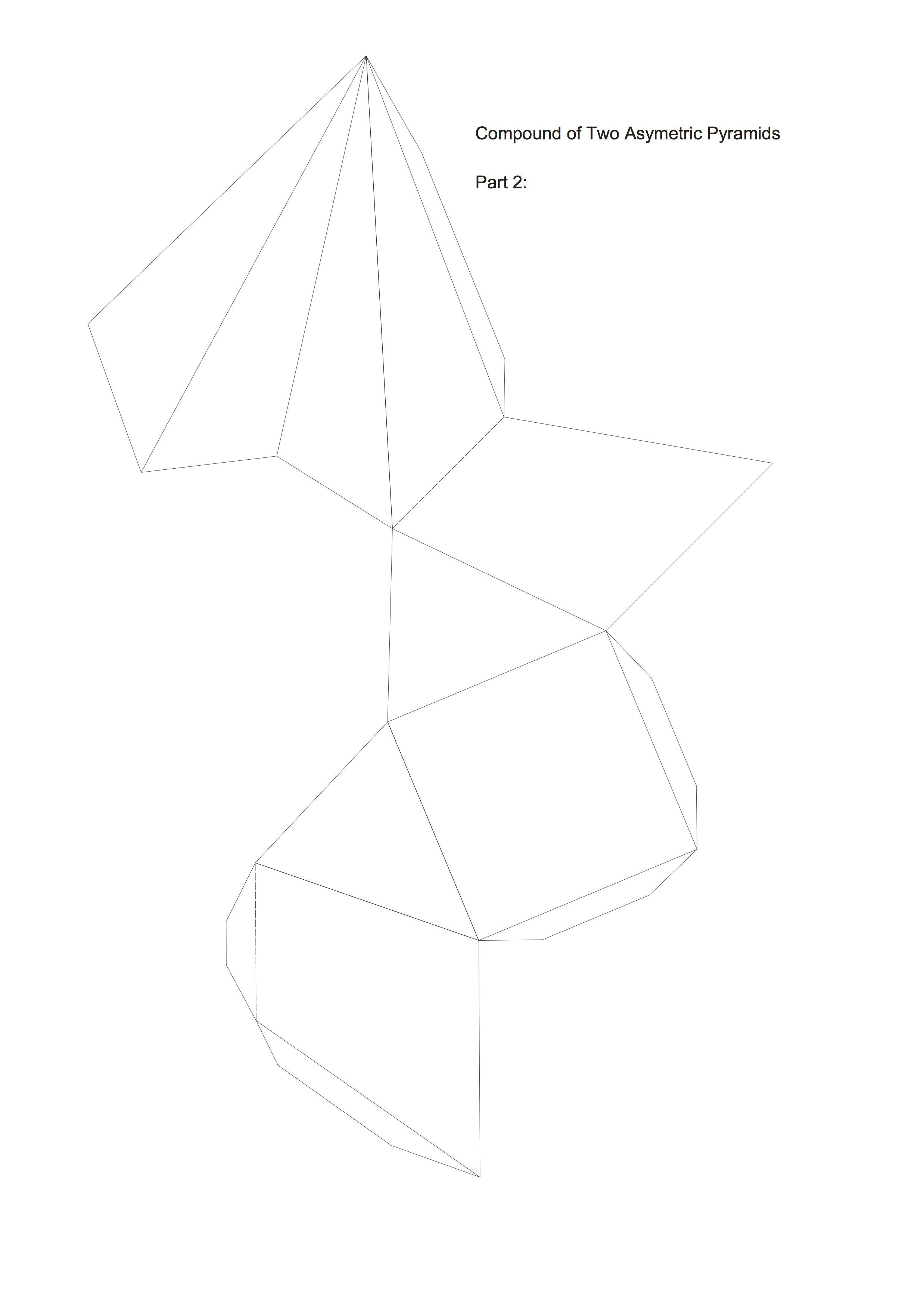 Compound Of 2 Assym Pyramid Part 02