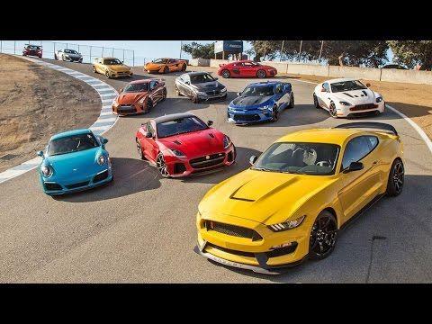 2017 Chevrolet Camaro Zl1 Vs 2017 Ford Shelby Mustang Gt350r